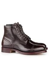 Ботинки Santoni WTALZ0501 100% кожа Темно-бордовый Италия изображение 0