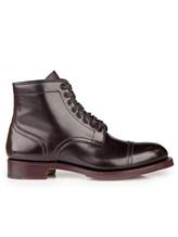 Ботинки Santoni WTALZ0501 100% кожа Темно-бордовый Италия изображение 1