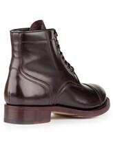 Ботинки Santoni WTALZ0501 100% кожа Темно-бордовый Италия изображение 3