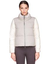 Куртка Peserico S24085C02 69% полиэстер, 29% вискоза, 2% эластан Серо-бежевый Италия изображение 1