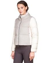 Куртка Peserico S24085C02 69% полиэстер, 29% вискоза, 2% эластан Серо-бежевый Италия изображение 2