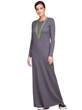 Платье EREDA E252454 70% шерсть, 30% кашемир Серо-зеленый Италия изображение 0