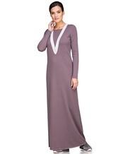 Платье EREDA E252454 70% шерсть, 30% кашемир Лиловый Италия изображение 0