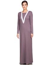 Платье EREDA E252454 70% шерсть, 30% кашемир Лиловый Италия изображение 2