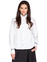 Рубашка Balossa white shirt BA0112 100%хлопок Белый Болгария изображение 0