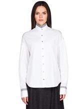 Рубашка Balossa white shirt BA0112 100%хлопок Белый Болгария изображение 2