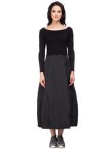 Платье Peserico S82005F07 70% шерсть, 20% шёлк, 10% кашемир Черный Италия изображение 1