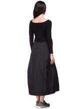 Платье Peserico S82005F07 70% шерсть, 20% шёлк, 10% кашемир Черный Италия изображение 3
