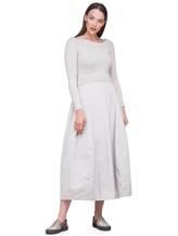 Платье Peserico S82005F07 70% шерсть, 20% шёлк, 10% кашемир Серо-бежевый Италия изображение 0