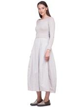 Платье Peserico S82005F07 70% шерсть, 20% шёлк, 10% кашемир Серо-бежевый Италия изображение 2