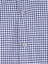 Рубашка EREDA BCC11 P7U RG8 100%хлопок Бело-синий Италия изображение 4