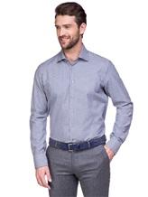 Рубашка EREDA BCC11 P7U RG8 100%хлопок Бело-синий Италия изображение 0