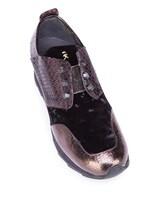Кроссовки Henry Beguelin SD3233 100% кожа Черно-коричневый Италия изображение 4