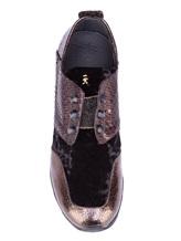 Кроссовки Henry Beguelin SD3233 100% кожа Черно-коричневый Италия изображение 5