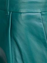 Брюки MAISON ULLENS PAN025 100% кожа ягненка Изумрудный Италия изображение 4