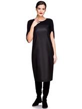 Платье EREDA E251530 88% шерсть, 10% полиамид, 2% эластан Черный Италия изображение 0