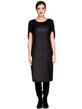 Платье EREDA E251530 88% шерсть, 10% полиамид, 2% эластан Черный Италия изображение 1