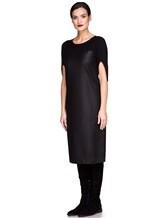 Платье EREDA E251530 88% шерсть, 10% полиамид, 2% эластан Черный Италия изображение 2