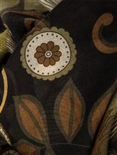 Платок Francesca Bassi D17I-F59 100% шерсть Хаки Италия изображение 1