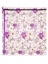 Платок Francesca Bassi D17I-F59 100% шерсть Фиолетовый Италия изображение 2