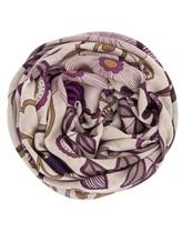 Платок Francesca Bassi D17I-F59 100% шерсть Фиолетовый Италия изображение 0