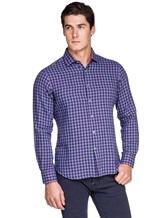 Рубашка Ingram SLIN/RV/L ML XT-5 100%хлопок Сине-красный Италия изображение 0
