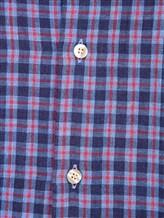 Рубашка Ingram SLIN/RV/L ML XT-5 100%хлопок Сине-красный Италия изображение 5