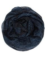 Платок AVANT TOI 217A6033 100% кашемир Темно-синий Италия изображение 0