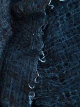Платок AVANT TOI 217A6033 100% кашемир Темно-синий Италия изображение 1
