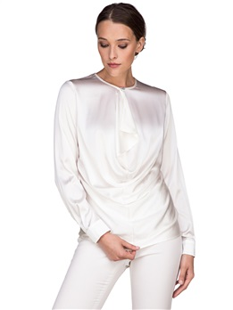 Блузка Balossa white shirt BA0126