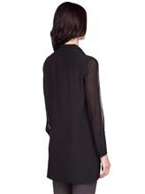 Блуза AKRIS 515000 100% шёлк Черный Румыния изображение 3