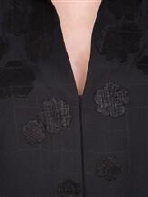 Блуза AKRIS 515000 100% шёлк Черный Румыния изображение 4