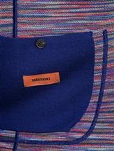 Пиджак Missoni 537390 95% шерсть, 5% полиамид Синий Италия изображение 6