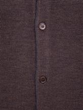 Кардиган EREDA 55160 100% шерсть Коричневый Италия изображение 5