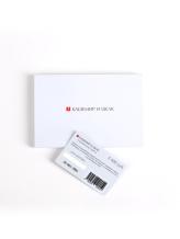 Подарочная карта Кашемир и Шелк GC05 пластик Бело-черный Россия изображение 1