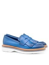 Туфли Santoni WUSH56968 100% кожа Темно-голубой Италия изображение 0