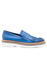 Туфли Santoni WUSH56968 100% кожа Темно-голубой Италия изображение 1