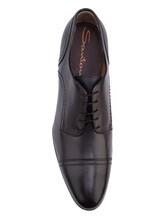 Ботинки Santoni MCWG15968 100% кожа Антрацит Италия изображение 4