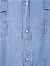 Рубашка Lardini EEALE 80% хлопок, 18% нейлон, 2% эластан Темно-голубой Италия изображение 4