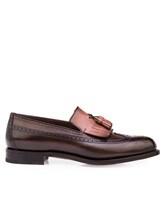 Туфли Santoni MCHG12830 100% кожа Темно-коричневый Италия изображение 1
