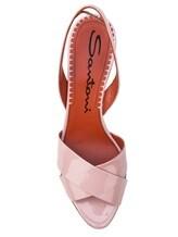 Босоножки Santoni WHGS57083 100% кожа Розовый Италия изображение 4