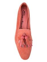Балетки Santoni WUBV57127 100% кожа Розовый Италия изображение 4