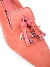 Балетки Santoni WUBV57127 100% кожа Розовый Италия изображение 5