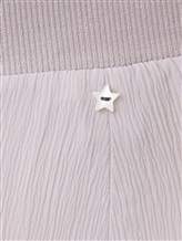 Брюки Lorena Antoniazzi LM33128PA22 76% ацетат, 24% шёлк Светло-серый Италия изображение 5