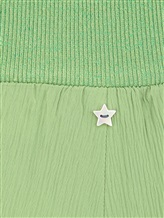 Брюки Lorena Antoniazzi LM33128PA22 76% ацетат, 24% шёлк Зеленый Италия изображение 4