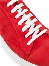 Кеды EREDA ERM1502 100% кожа Красный Италия изображение 5