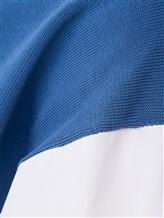 Джемпер ERIKA CAVALLINI P8PA25 100%хлопок Темно-голубой Италия изображение 5
