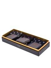 Носки ALTO Milano 17AIAM1214XC 80% хлопок, 18% полиамид, 2% эластан Черно-синий Италия изображение 0