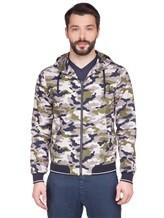 Куртка Herno GI0139U 100%хлопок Серо-зеленый Италия изображение 2