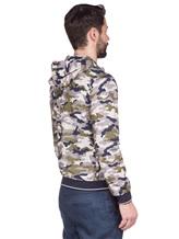 Куртка Herno GI0139U 100%хлопок Серо-зеленый Италия изображение 4